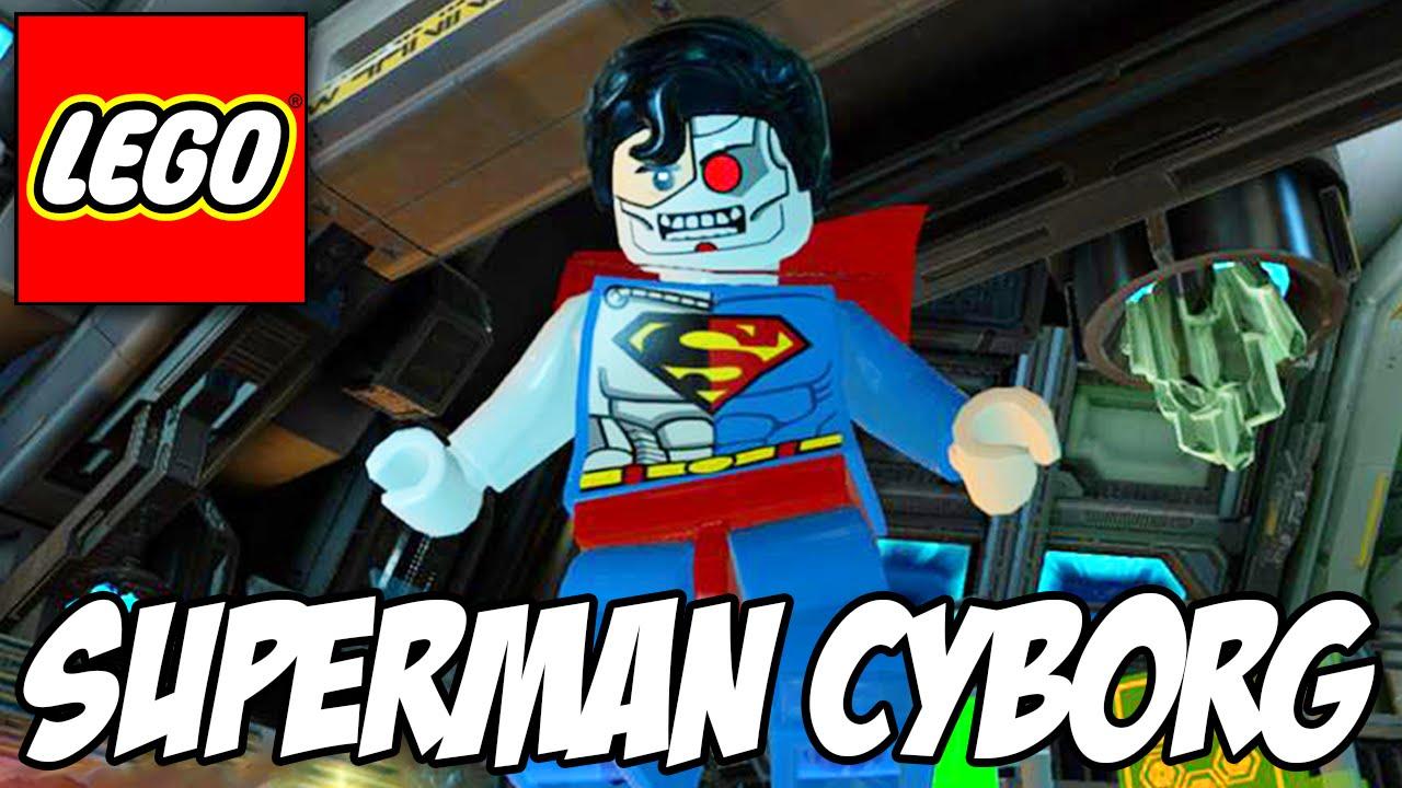 Lego Batman 3 - Cyborg Superman e o Batmansuperman - YouTube