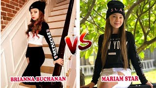 Brianna Buchanan Vs Mariam Star ( Best Musical.ly Kids Battle ) Musically Compilation Video