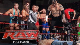 FULL MATCH - John Cena & Randy Orton vs. Raw roster – 17-on-2 Handicap Match: Raw, March 17, 2008