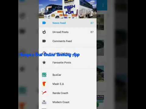 How to make online Booking using Bus Kenya App