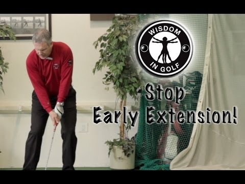 Stop Early Extension! - Shawn Clement's Wisdom in Golf