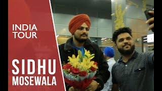 Sidhu Moose Wala India Tour | Official | Rehmat Production | 2018