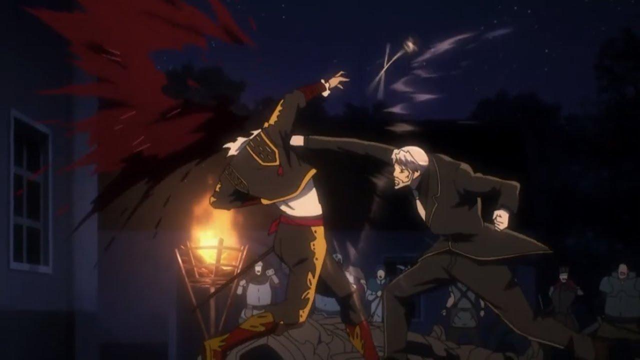 Overlord Anime World Map.Overlord Ii 1 Hit Kill Sebas Vs Six Arms Eps 11 Youtube