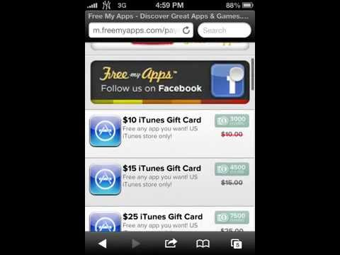 How To Get Free Gems For Clash Of Clans/Free Itunes & Amazon Vouchers- Free My Apps