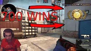 700 Wins CSGO Rank Up