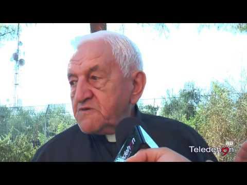 P. CIVERRA racconta del SS. Salvatore e la nascita di Teledehon - Speciale interviste
