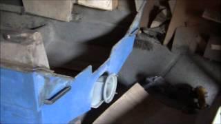 Как установить водомет в пластиковый катер