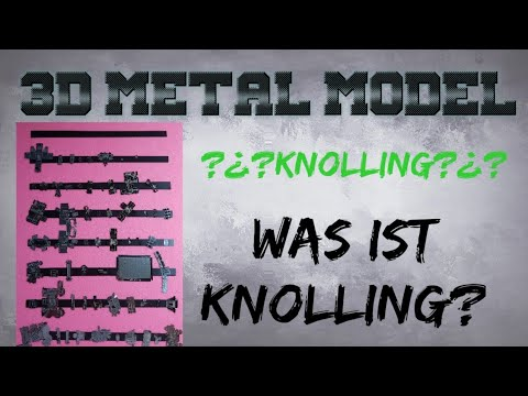 Knolling bei Metall Modelle und Review