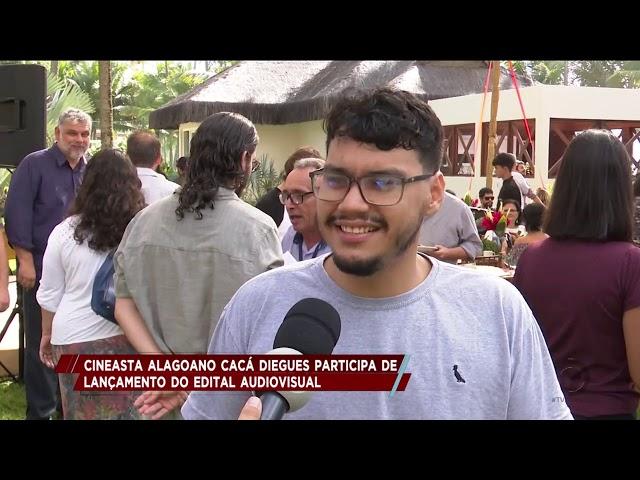 Cineasta alagoano Cacá Diegues participa de lançamento do Edital Audiovisual