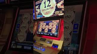 Hitting the $10000 coin on lightning link $50 bets