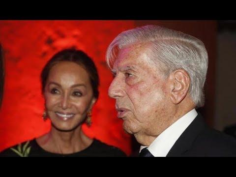 Isabel Preysler y Mario Vargas Llosa recibidos en Perú como estrellas de Hollywood