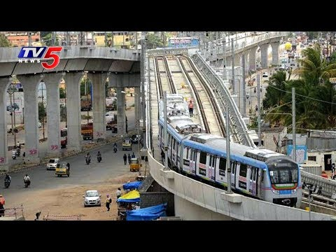 L&T Officials Speed Up Metro Rail Works In Hyderabad | TV5 News