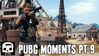 NOT FORTNITE - PUBG Funny Moments with JT Gaming Part 9