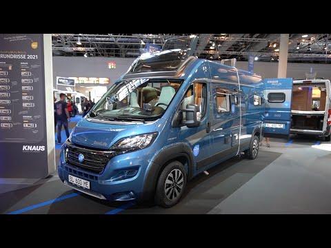 Knaus Boxlife 600 ME 2021 Caravan Salon 2020 Wohnmobil Kastenwagen CUV ausführliche Beschreibung