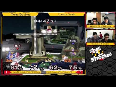 SS17 - Nintendude & ChuDat vs Milkman & Chillindude - Melee Doubles Losers Finals
