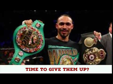 """KEITH THURMAN SHOULD VACATE BELTS SAYS PORTER 