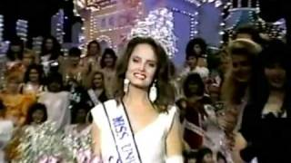 Miss Universe 1987 Crowning