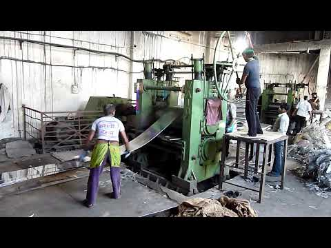 """2HI COLD ROLLING MILL FOR ALUMINUM SHEETS (19""""x42"""")"""