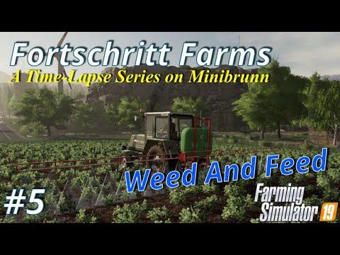 Farming Simulator 19   Forthschritt Farms #5   Weed And Feed
