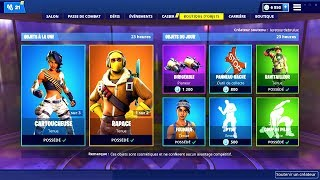 BOUTIQUE FORTNITE du 11 Mars 2019 ! ITEM SHOP March 11 2019 !