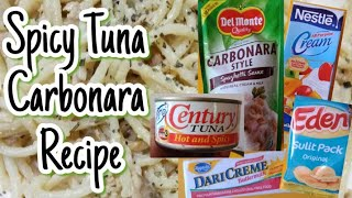 Vlog #13- How to Cook Spicy Tuna Carbonara