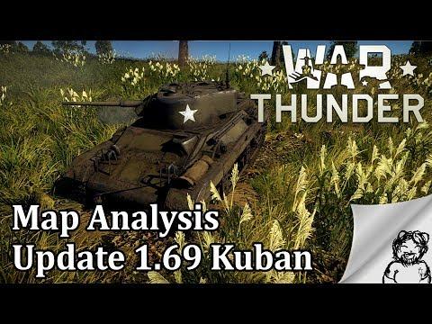 War Thunder - Map Analysis - Update 1.69 Kuban