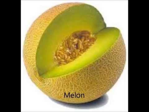 Alphabetical List of Fruits