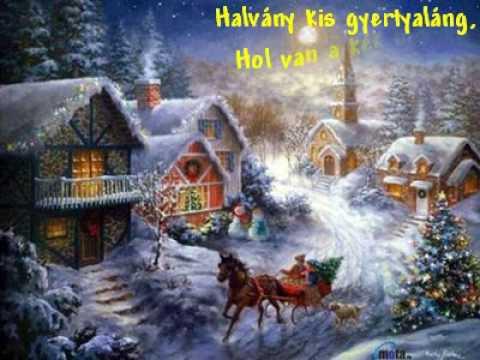 youtube filmek - Karácsony ünnepén   Halász Judit