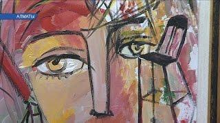 В Алматы открылась выставка ''Палитра настроений''  (03. 03.17)