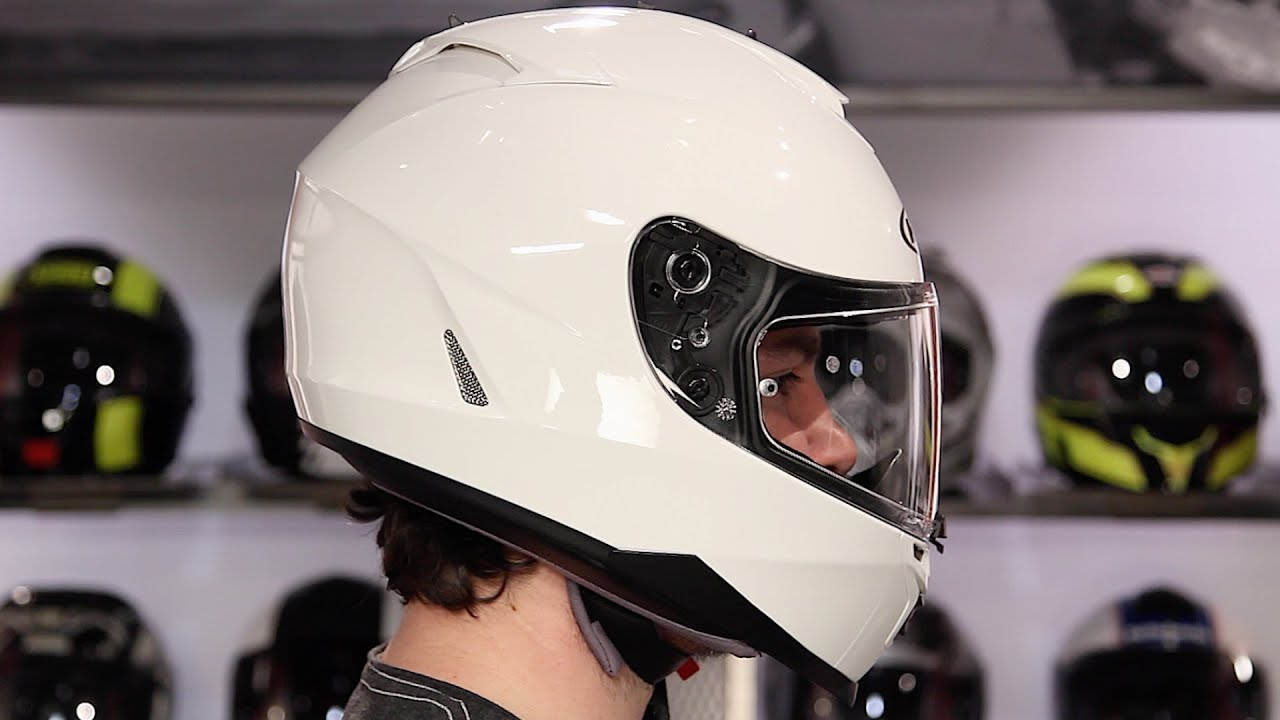 Hjc Is Max 2 >> HJC IS-17 Helmet Review at RevZilla.com - YouTube
