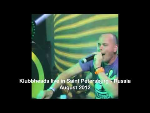 Klubbheads live @ Radio Record Party in Saint Petersburg Rus
