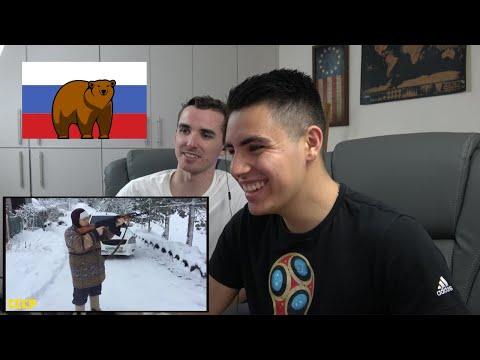 реакция АМЕРИКАНЦЕВ на смешные видео из России / Иностранцы реагируют