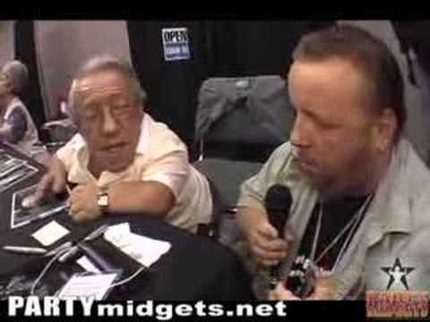 Toad interviews Kenny Baker (R2D2 from Star Wars)