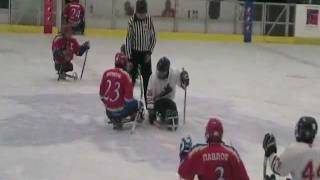LONDON BLIZZARD SLEDGE HOCKEY INVITATIONAL 2012  PART 6