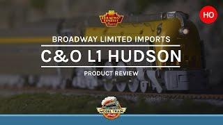 HO Scale Broadway Limited Imports C&O L1 Hudson