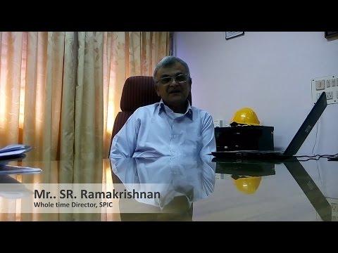 Mr. S.R. Ramakrishnan, SPIC Whole Time director, endorses PSTS logistics