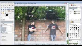 Tutorial GIMP - como hacer clones - clonar facil español