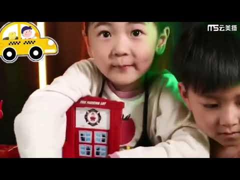 兒童停車場玩具大樓 聲光自動升降機合金工程消防軌道車玩具