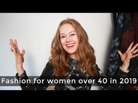 - Fashion for women over 40 - mature women fashion 2019
