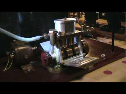 Luton Bowman BM Valveless Steam Marine Engine.