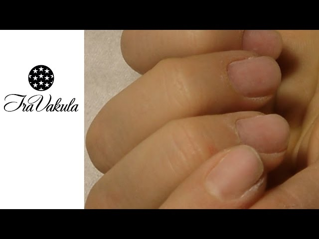 How I Do Manicure to myself #Ira Vakula Nail Art