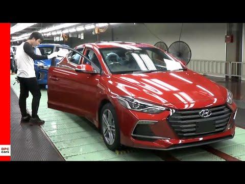 2020 Hyundai Elantra And Ioniq Factory At Ulsan Plant