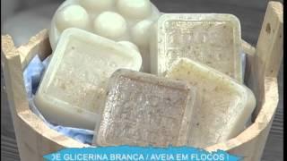 Sabonete esfoliante de aveia