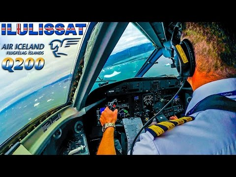 ICEBERG AHEAD! Piloting the Dash 8 into Greenland