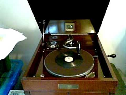 Three Little Kittens - Shellac - 78rpm - miniature - HMV 109 - Windup Gramophone