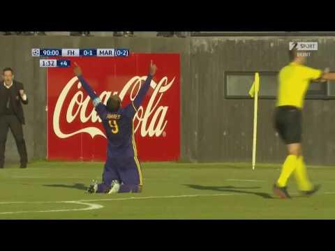 Hafnarfjordur : Maribor  0:1 - zadnje minute tekme