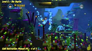 The Lego Movie Videogame: Level 9 The Depths - FREE PLAY - (Pants & Gold Manuals) - HTG