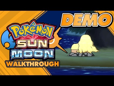 Pokémon Sun and Moon Special Demo Version - FULL walkthrough and in-depth secret analysis!