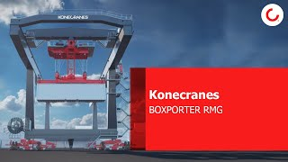 The new Konecranes BOXPORTER RMG and the vision of the future for RMGs