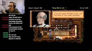 Day 2 - Kings Quest III: To Heir Is Human (AGD Version)
